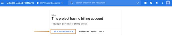 5 - Project no billing acc