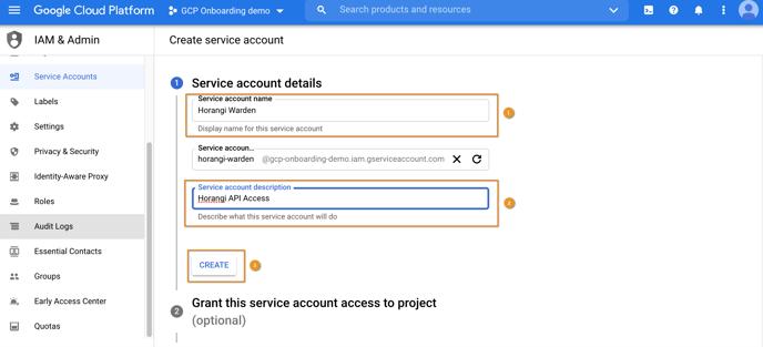 8 - Service acc details